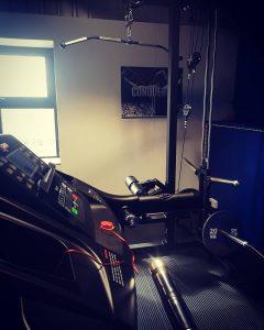 Lat Pull Down & Treadmill